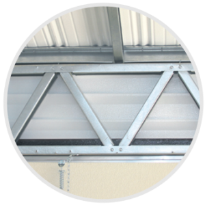 Diagonal Door Support