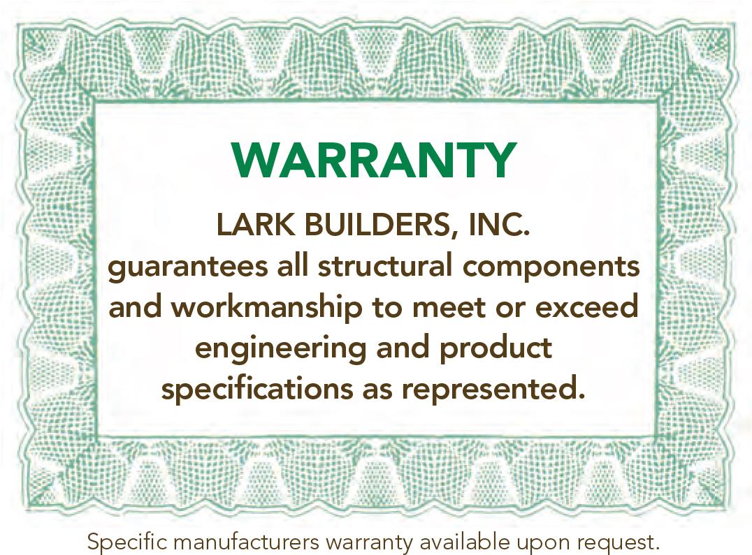 Lark Warranty